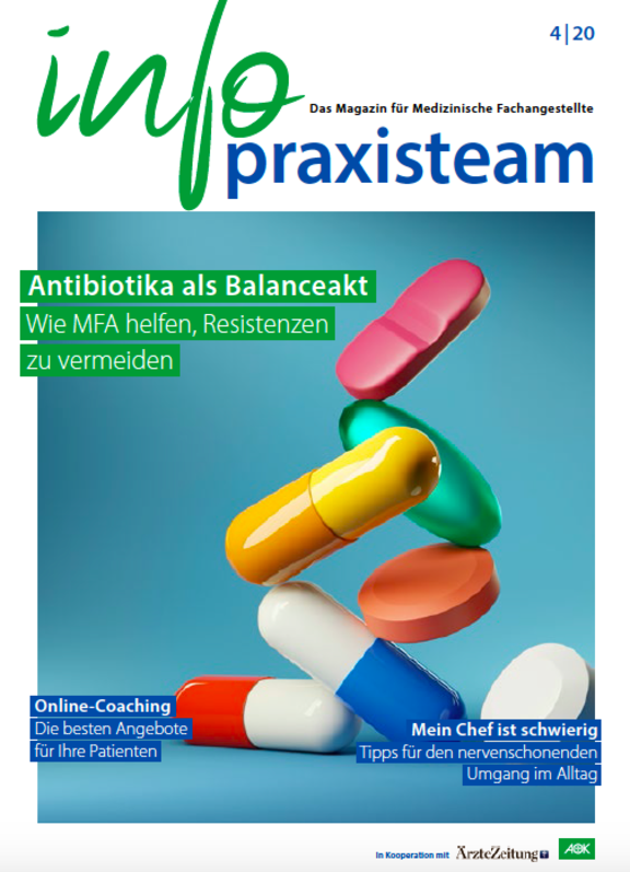 info praxisteam: titelbild 04/2020