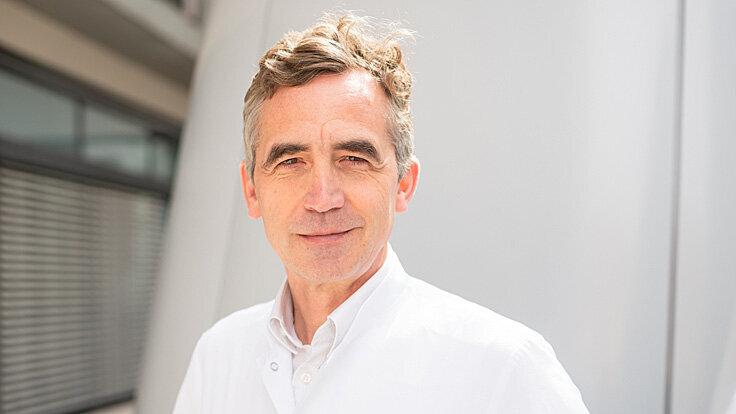 Prof. Dr. Bernhard Hemmer, Direktor der Neurologischen Klinik der Technischen Universität München