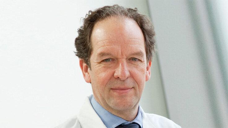 Professor Dr. Klaus-Michael Debatin, Ärztlicher Direktor der Universitätsklinik für Kinder- und Jugendmedizin Ulm