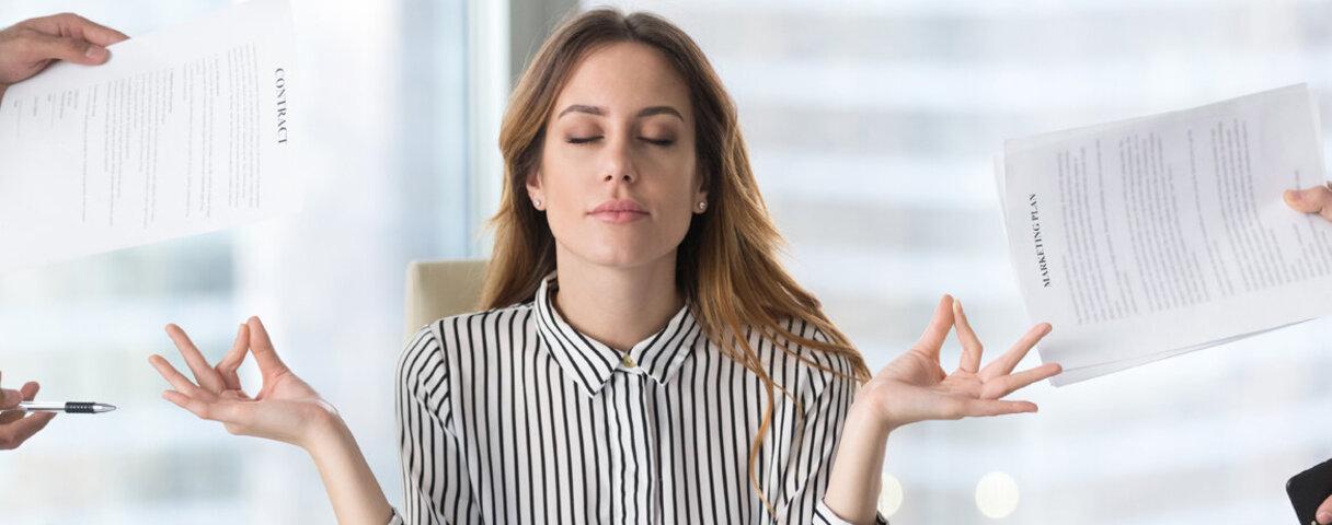 AOK Magazin Stress Stressbewältigung