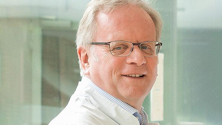 Univ.-Prof. Dr. Michael Stöckle, Direktor der Klinik für Urologie und Kinderurologie in Homburg/Saar