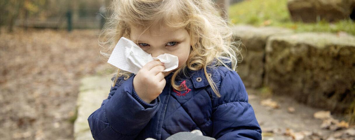 Das Immunsystem von Kindern kann bei Bewegung an der frischen Luft gestärkt werden.