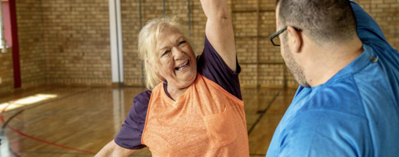 Bewegung im Alter durch Training