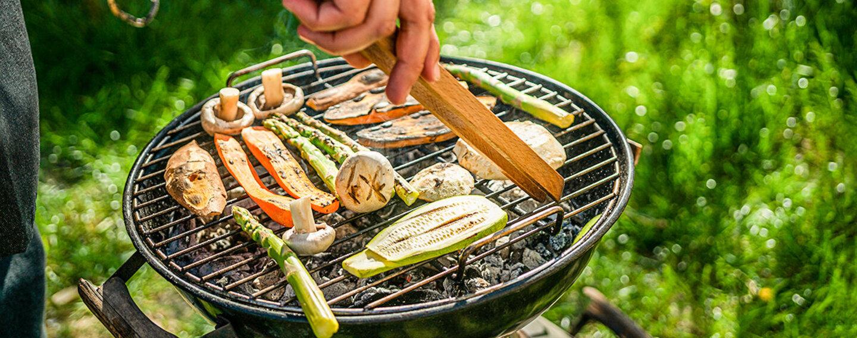Statt Fleisch lässt sich auch Gemüse perfekt auf dem Rost grillen