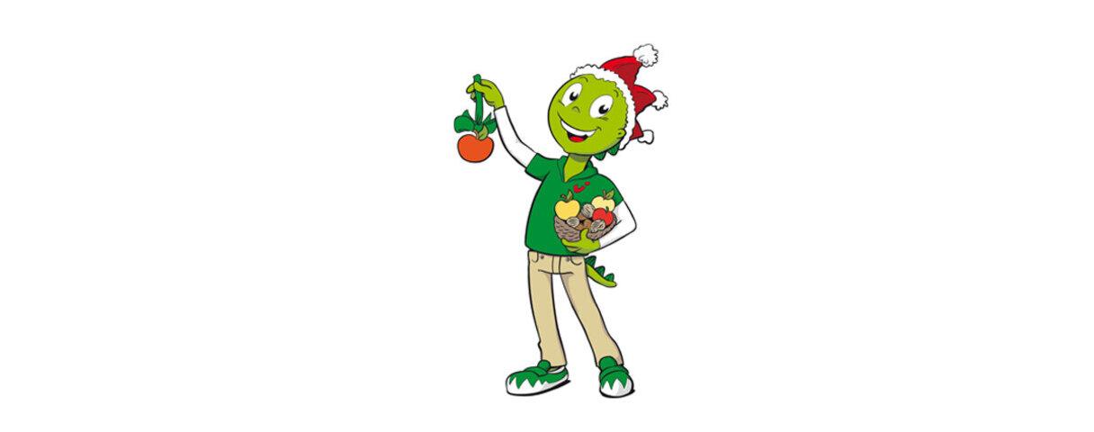 Jolinchen in weihnachtlicher Stimmung
