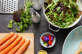 Gemüse wie Karotten haben einen niedrigen Glykämischen Index.